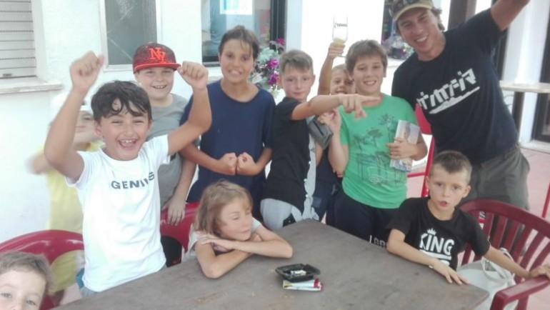 Summer Camp Falconeri Ski Team Pulcini a Cesenatico