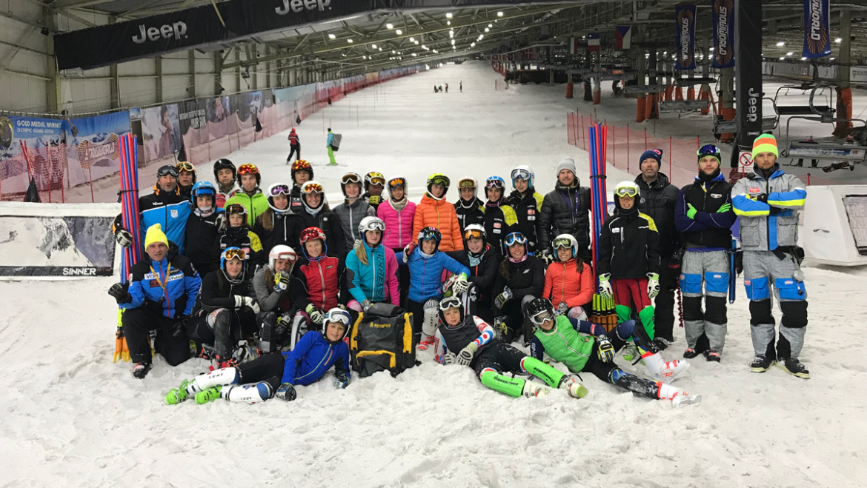 Gli atleti Falconeri Ski Team rientrano da Landgraaf
