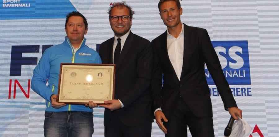 Premiazione sci club stellati 2017