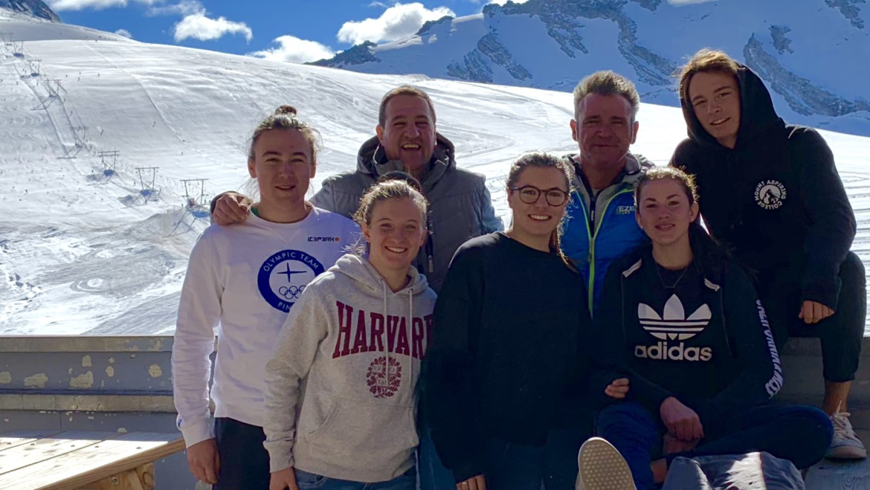 Allenamento al Passo dello Stelvio per i Giovani Falconeri Ski Team