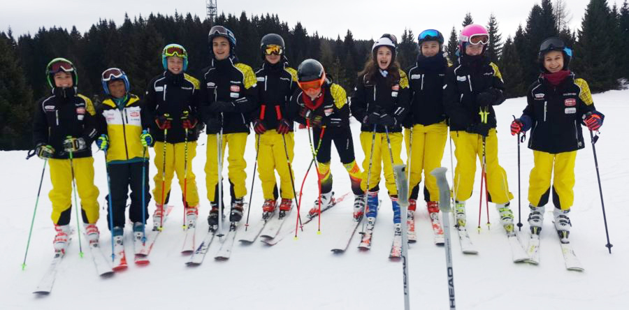 Grande stagione per il gruppo Ragazzi Allievi Enjoy Ski