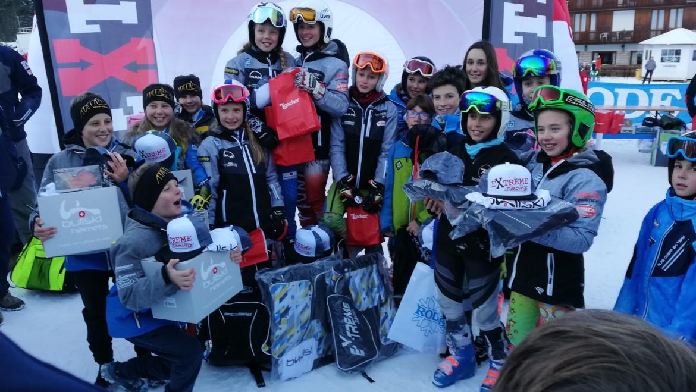 Pulcini Falconeri Ski Team vincono il parallelo Extreme a Folgaria