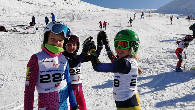 Buona la prima agli International Ski Games, Guiotto Sofia Vince per la categoria baby 2 a Prato Nevoso
