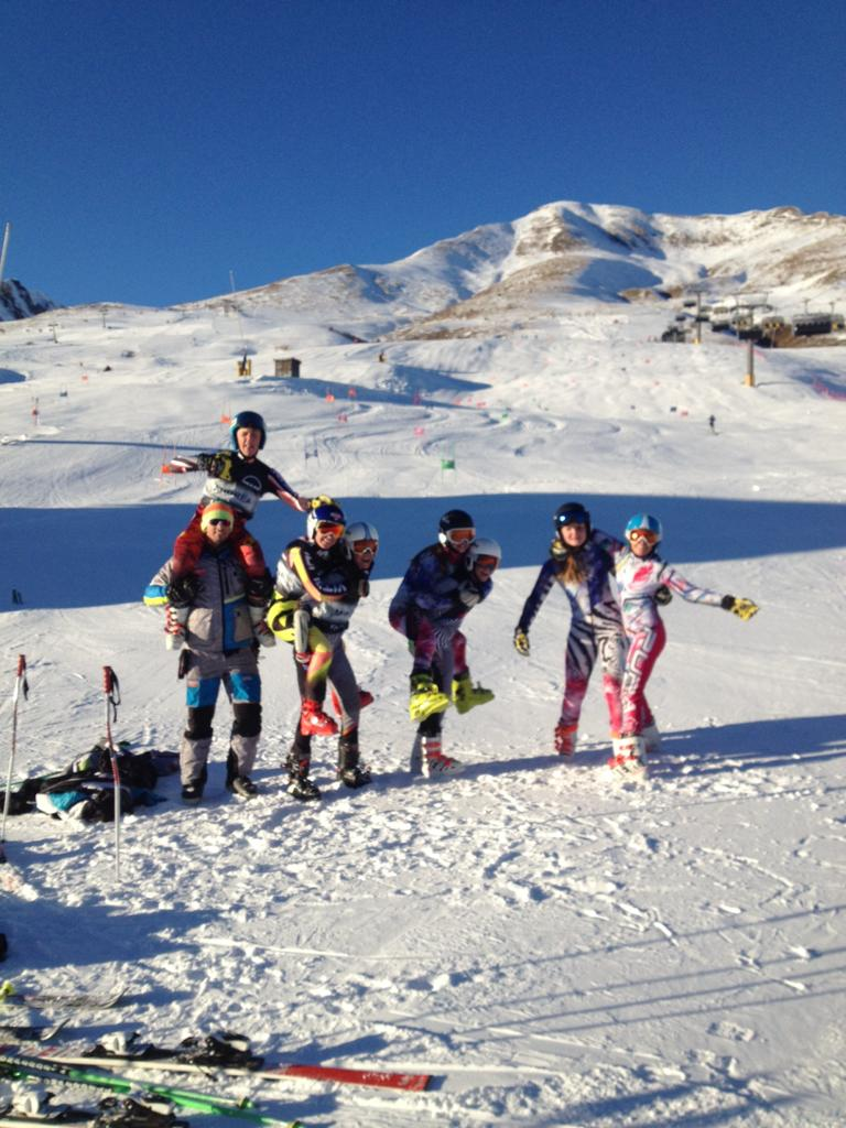 Allievi week end in Tonale