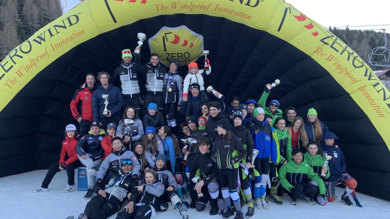 Ragazzi Allievi primi allo Slalom circoscrizionale di Folgaria