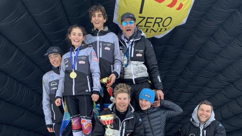 Ragazzi Allievi primi allo Slalom inter-C di Folgaria