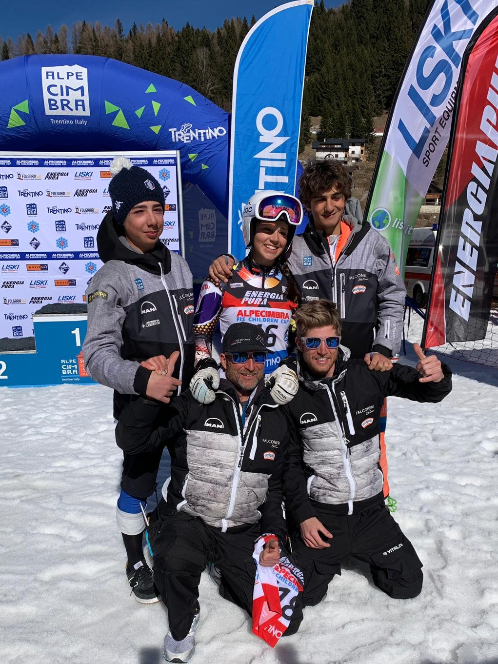 Falconeri Ski Team protagonista all'Alpe Cimbra FIS Children Cup 2019