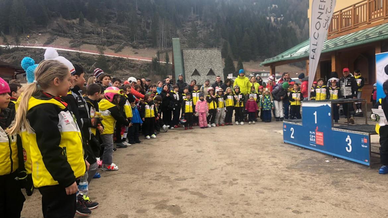 Gara sociale Falconeri Ski Team – Festa di una grande famiglia
