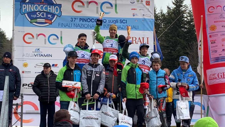 Al Pinocchio ultimo giorno con lo Slalom, ancora buone notizie per Falconeri Ski Team