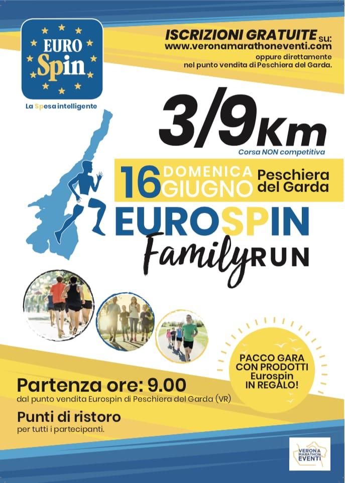 Eurospin Family run domenica 16 giugno