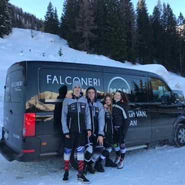 Falconeri Ski Team e Yokohama Italia S.p.A. insieme per una maggiore sicurezza sulla strada