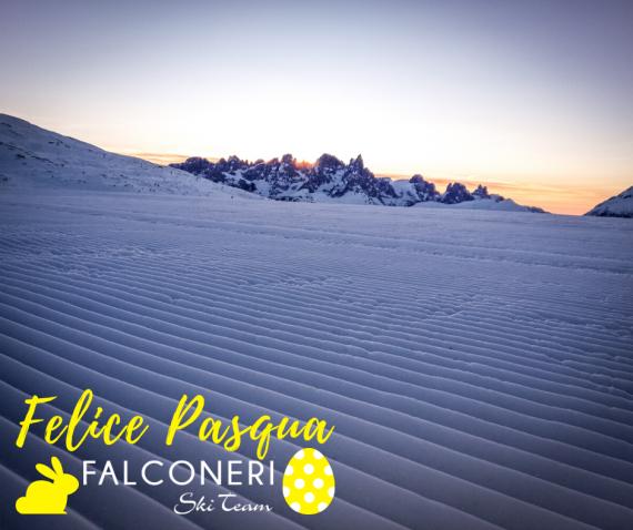 Falconeri Ski Team augura a tutti voi una Felice Pasqua