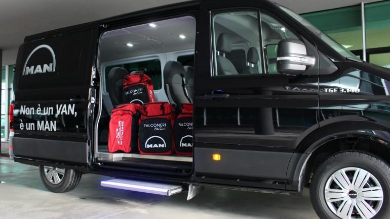 Falconeri Ski Team e MAN Truck & Bus Italia S.p.A., il viaggio continua!
