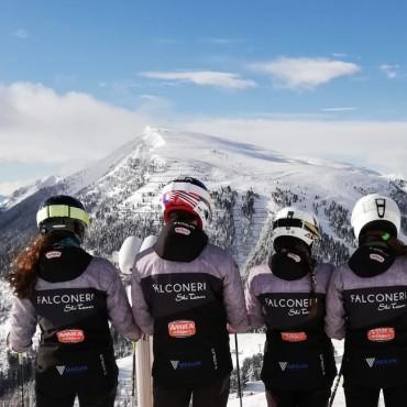 Il gusto di stare in compagnia: Amica Chips e Falconeri Ski Team
