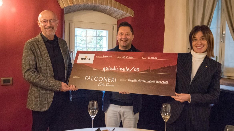 Falconeri Ski Team e Bolla uniti per la valorizzazione dei giovani talenti