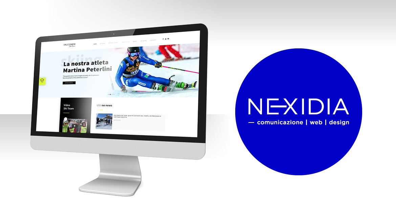 Nexidia anche per il 2021 al fianco di Falconeri Ski Team!