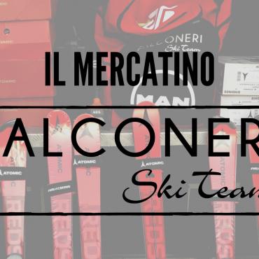 E' attivo il Mercatino Falconeri Ski Team