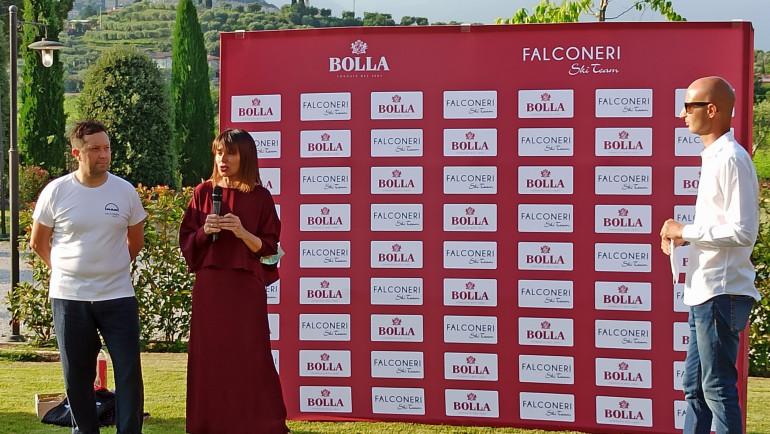 Cantina Bolla e Falconeri Ski Team: un legame che guarda al futuro